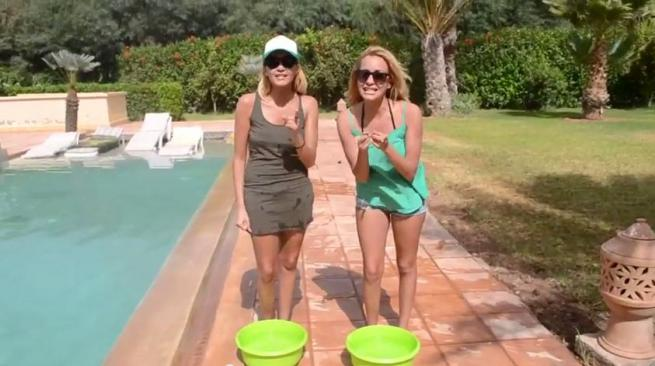 VIDEO - Monira et Malika (#IDV3): Premières candidates de télé réalité à relever le ICE BUCKET CHALLENGE de Jeremstar!