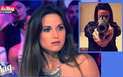PHOTOS - Capucine Anav: Elle choque ses fans en s'affichant avec des armes de guerre!