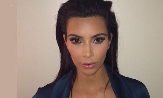 Dailybuzz.ch: New Nude Photos! Kim Kardashian Poses