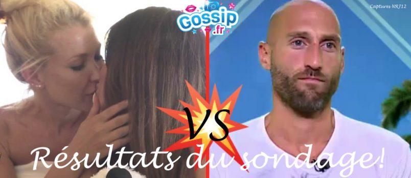 Andréane et Aurélie VS Jeff... C'est le sondage auquel nous vous proposions de répondre et dont voici enfin les résultats! Des résultats édifiants...