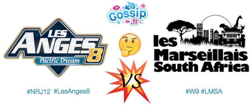 Sondage: Quel programme préférez-vous entre Les Anges 8 et Les Marseillais South Africa? Votez!