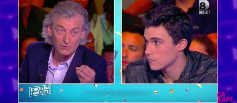 """Gilles Verdez reproche à Martial d'être """"hypocrite en venant lui dire bonjour comme si de rien n'était"""" après l'avoir clashé dans le Mad Mag!"""