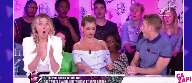 Mélanie a réglé ses comptes à l'antenne du Mad Mag hier soir avec Aurélie Dotremont et Anaïs Sanson. Elle a tellement balancé que l'équipe a été choquée!