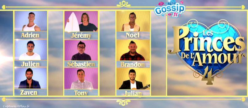 Découvrez les portraits de présentation des 9 candidats de Les Princes de l'amour saison 4