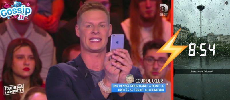Scandalisé par les selfies de NAbilla pendant son procès, Matthieu Delormeau pousse un coup de gueule