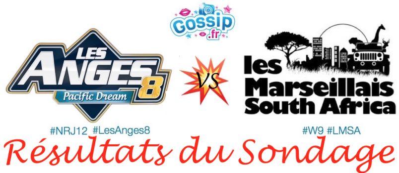 Découvrez quel programme le public préfère entre Les Anges 8 et Les Marseillais South Africa