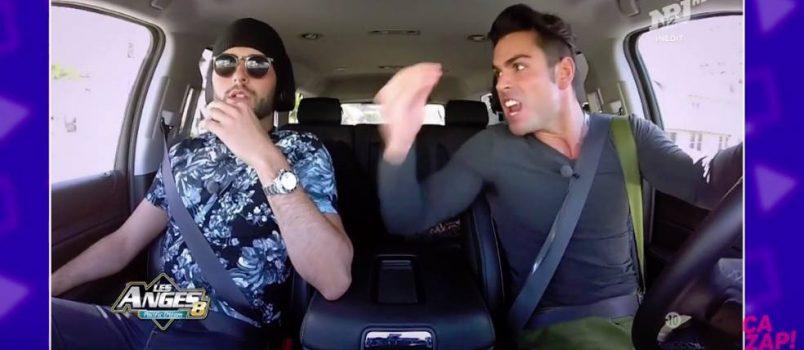 Le violent clash en voiture entre Ricardo et Nehuda (Les Anges 8)