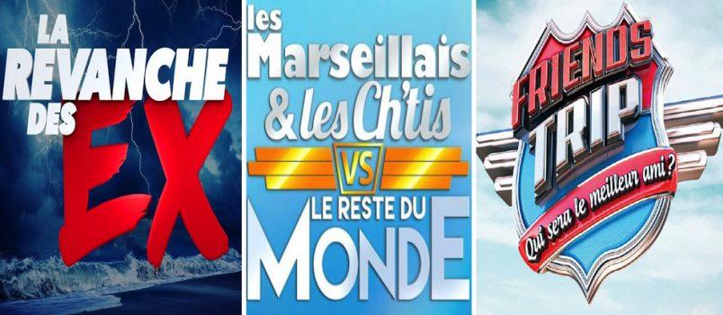 #LesEx - #LMLCVSMonde - #FriendsTrip3: Quelle télé réalité attendez-vous le plus? VOTEZ!