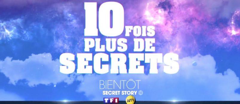 #SS10: Premier teaser officiel de la nouvelle saison de Secret Story!