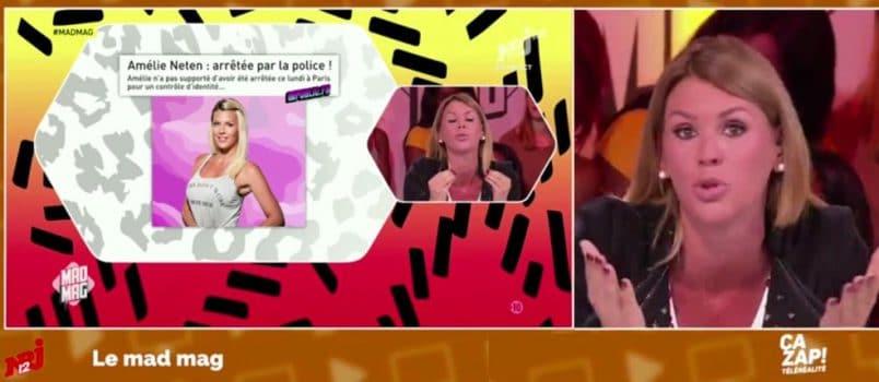 """Amélie Neten vs un journaliste de Public.fr: """"Je t'emmerde!!"""" ZAPPING TELEREALITE 24/09/2016"""