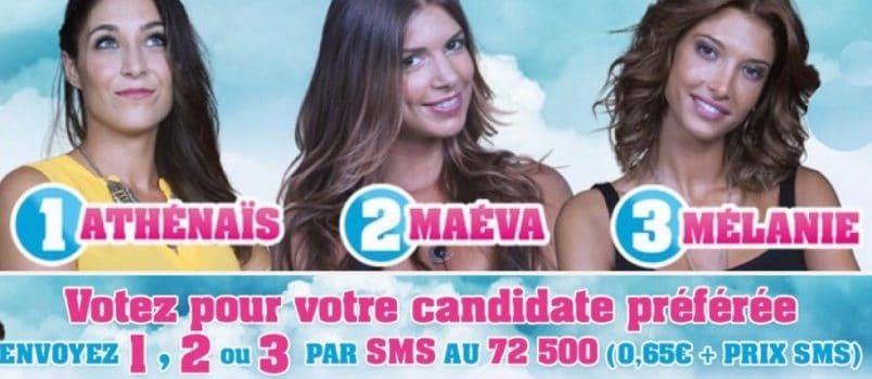 #SS10 – Athenais, Maeva et Mélanie nominées: Des estimations très serrées!