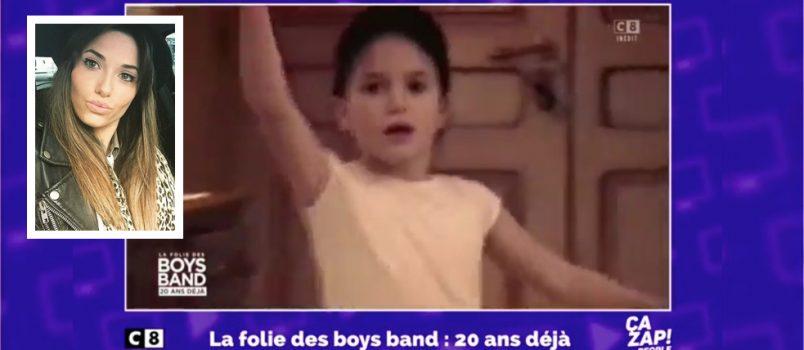 Capucine Anav à 6 ans sur la chorégraphie des 2be3! ZAPPING PEOPLE DU 08/09/2016