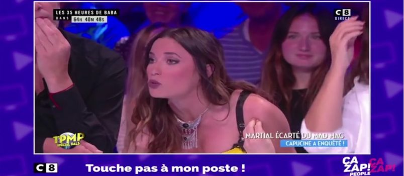 #TPMP: Capucine s'emporte contre NRJ12 pour l'éviction de Martial! ZAPPING PEOPLE 11/10/2016