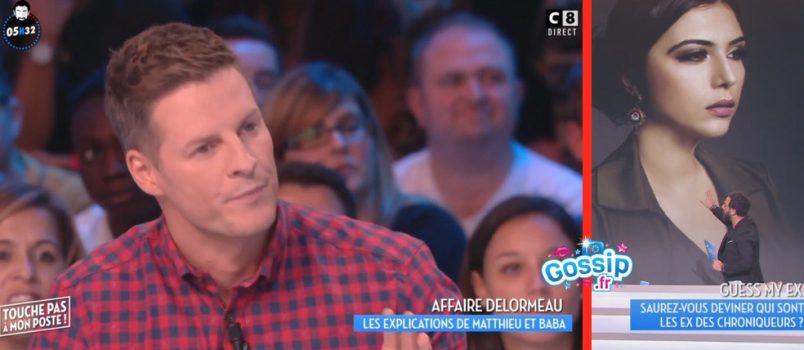 """Matthieu Delormeau: Accusé d'avoir menti sur """"son ex d'il y a 15 ans"""", il s'explique!"""