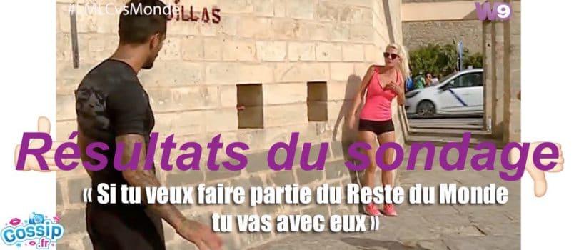 Julien (#LMLCvsMonde): Soutenu par le public pour son clash avec Jessica!