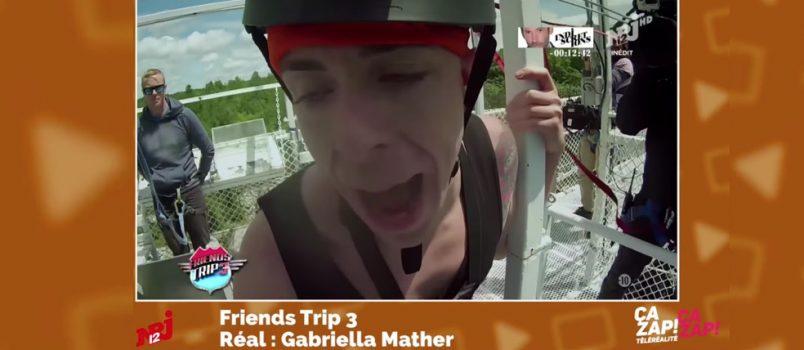 #FriendsTrip3: Quand Jeremy doit sauter dans le vide! ZAPPING TELEREALITE 29/10/2016