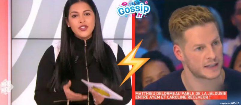 Ayem Nour: Furieuse, elle clashe et menace Matthieu Delormeau!