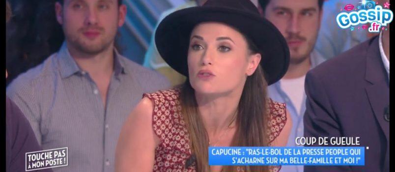Capucine Anav détestée par la mère de Louis Sarkozy? Elle s'emporte!