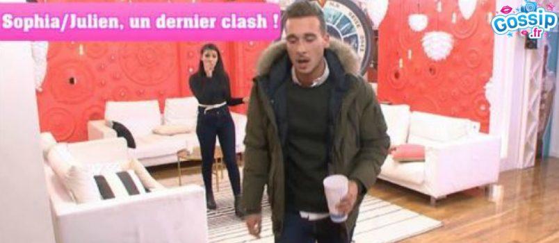 VIDEO - #SS10: Sophia demande des excuses à Julien, c'est le clash!