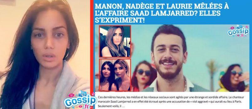 Manon Marsault: Elle réagit à la plainte de Nadège Lacroix pour diffamation!