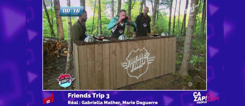 Raphaël (#FriendsTrip3) doit boire... du sang! ZAPPING PEOPLE DU 16/11/2016
