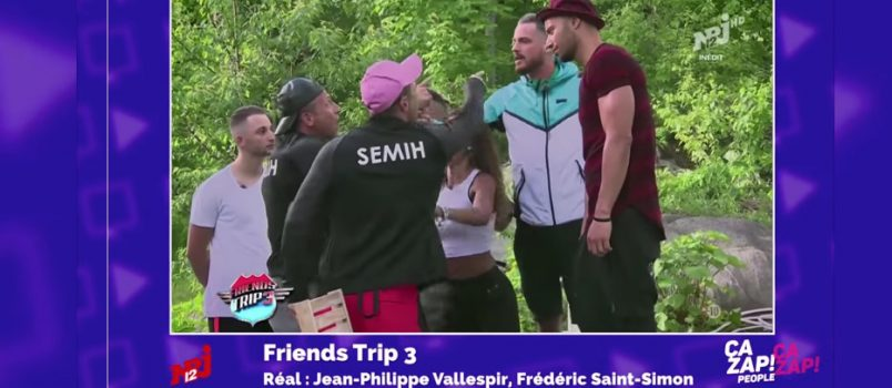 #FriendsTrip3: Raphaël VS Semih et Melih: le clash! ZAPPING PEOPLE 15/11/2016