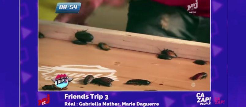 Un bouche-à-bouche avec les cafards dans #FriendsTrip3! ZAPPING PEOPLE DU 08/12/2016!