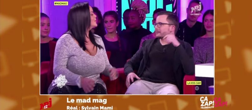 Sarah Fraisou embrasse le prince Benoît ! ZAPPING TELEREALITE HEBDO 03/12/2016
