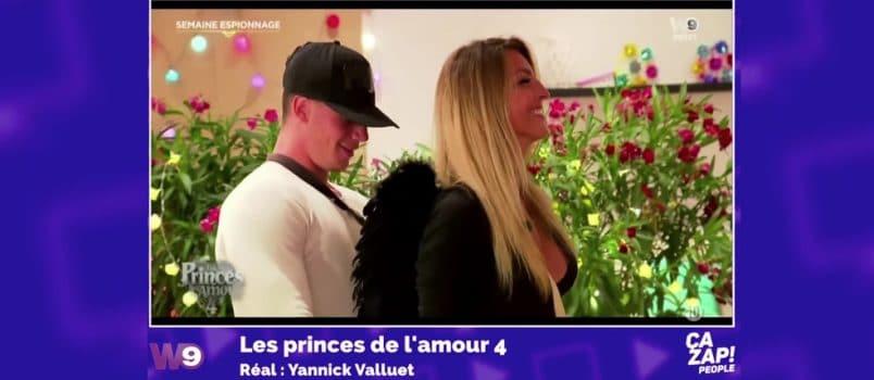 """Adrien (#LPDLA4) se fait plaisir avec le """"p'tit cul de Victoria""""! ZAPPING PEOPLE 5/01/2017"""
