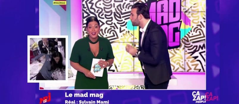 Aymeric se moque de la grosse gamelle d'Ayem (#MadMag)! ZAPPING PEOPLE 19/01/2017