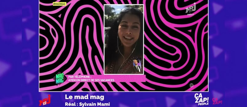 Ayem Nour s'explique sur son absence du #MadMag! ZAPPING PEOPLE DU 03/01/2017