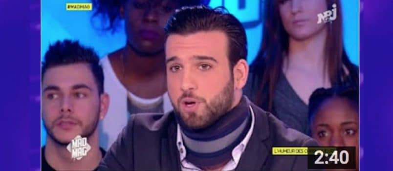 Aymeric Bonnery raconte son accident de voiture! ZAPPING PEOPLE DU 24/01/2017