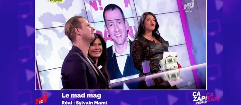 Vincent (#LPDLA4) répond au clash de Dany Boon! ZAPPING PEOPLE 20/01/2017