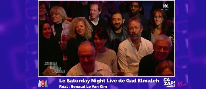 Cyril Hanouna tape l'incruste chez Gad Elmaleh! ZAPPING PEOPLE DU 06/01/2017