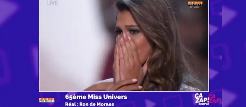 Iris Mittenaere (Miss France 2016) sacrée Miss Univers! ZAPPING PEOPLE 30/01/2017