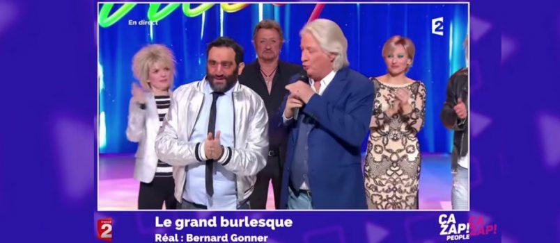 """Cyril Hanouna déguisé en """"gros et moche"""" face à Patrick Sébastien! ZAPPING PEOPLE DU 13/02/2017"""