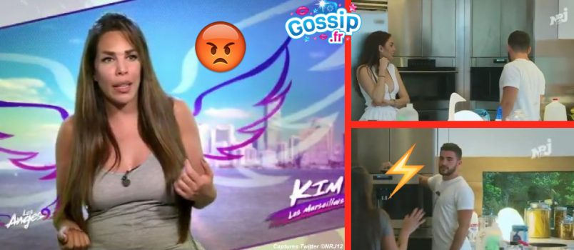 VIDEO - Kim (#LesAnges9): Antho discute avec Haneia, elle lui tape une crise!