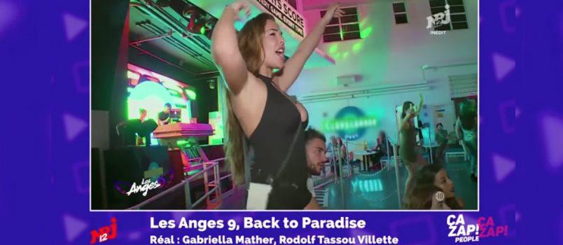 Le bootyshake de Kim Glow dans Les Anges 9! ZAPPING PEOPLE DU 17/02/2017