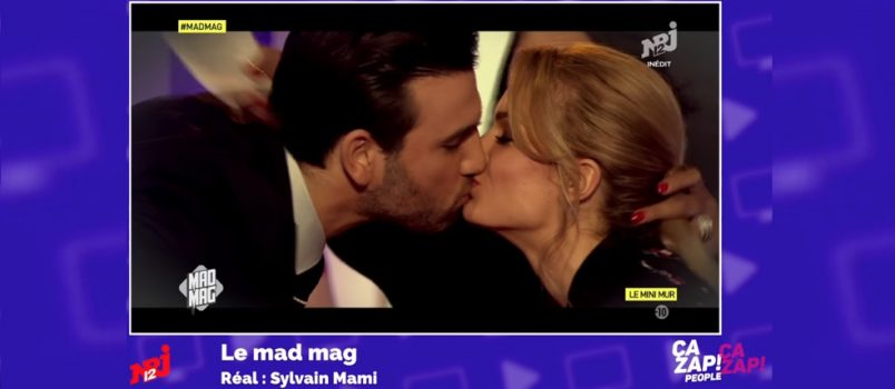 Aymeric embrasse Fiona Deshayes dans le #MadMag! ZAPPING PEOPLE DU 30/03/2017