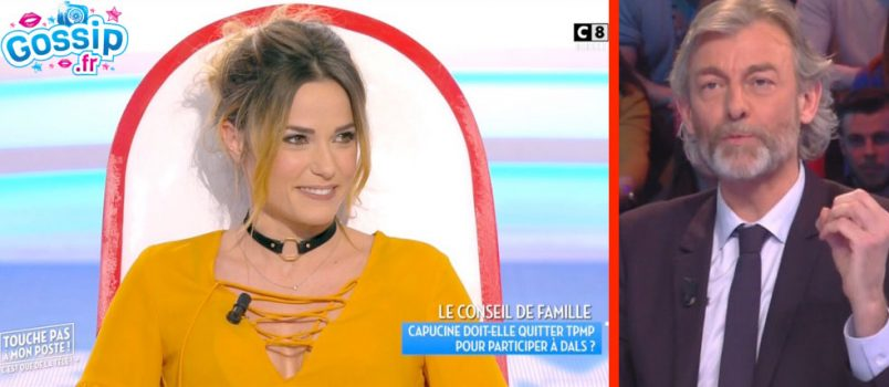 """Capucine Anav (#TPMP): Méchamment taclée par Gilles Verdez! """"Elle doit partir!"""""""