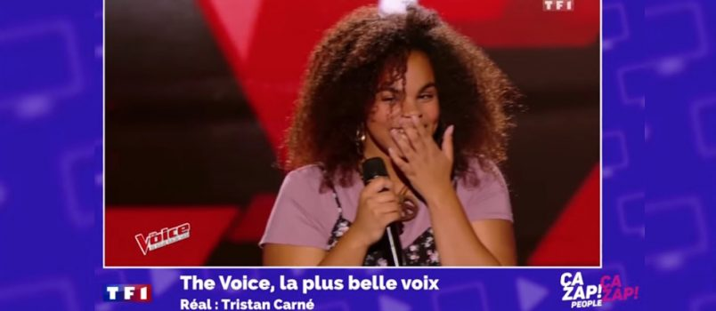 The Voice 6 : Manoah surprend les coachs avec sa voix ! - ZAPPING PEOPLE DU 13/03/2017