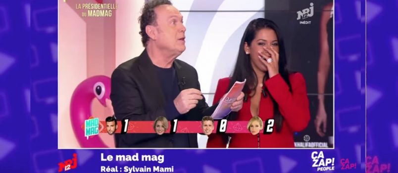 "Aymeric Bonnery traite Julien Lepers de ""tarba"" dans le #MadMag! ZAPPING PEOPLE DU 25/04/2017"