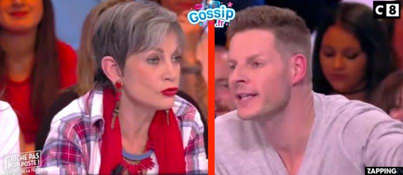 """VIDEO - #TPMP: Clash Matthieu Delormeau vs Isabelle Morini-Bosc! """"T'es fini à la pisse!"""""""