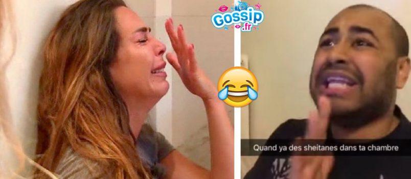 VIDEOS - Un internaute buzz avec sa parodie de la crise d'hystérie de Kim (#LesAnges9)!