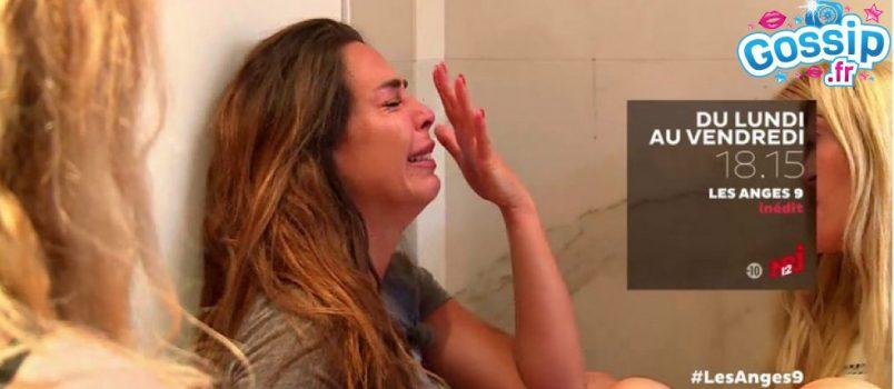 VIDEO - Kim (#LesAnges9): Larguée par Antho, elle devient totalement hystérique!