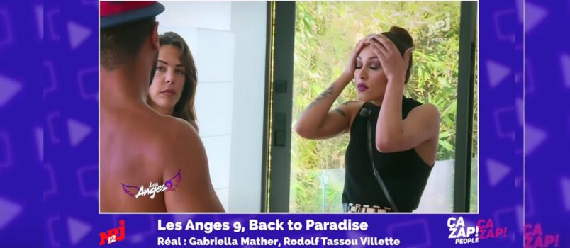 Rawell vs Thomas (#LesAnges9): Des retrouvailles tendues! ZAPPING PEOPLE 19/04/2017