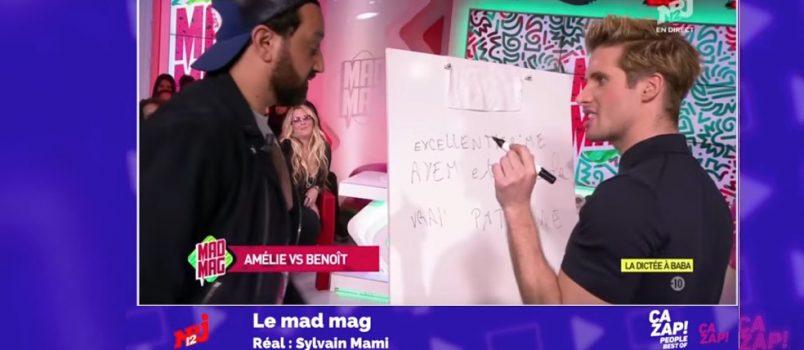 Amélie vs Benoit: La dictée de Baba dans le #MadMag! Best-Of Zapping People 1/05/2017