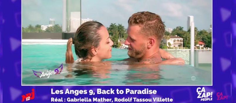 Quand Barbara Lune embrasse Jordan (#LesAnges9)! ZAPPING PEOPLE DU 24/05/2017