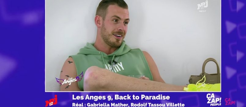 Julien Bert propose un premier rencart à Milla (#LesAnges9)! ZAPPING PEOPLE 29/05/2017