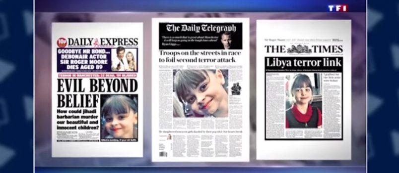 VIDEO - Hommage à Saffie rose, la plus jeune victime de l'attentat de #Manchester